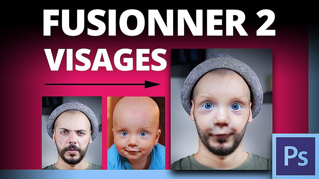 Comment mixer deux visages dans Photoshop CC
