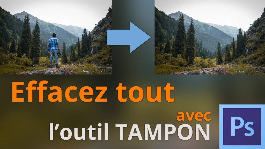 Outil tampon Photoshop