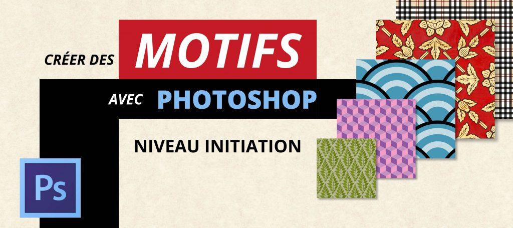 Formation Photoshop sur la création de motifs