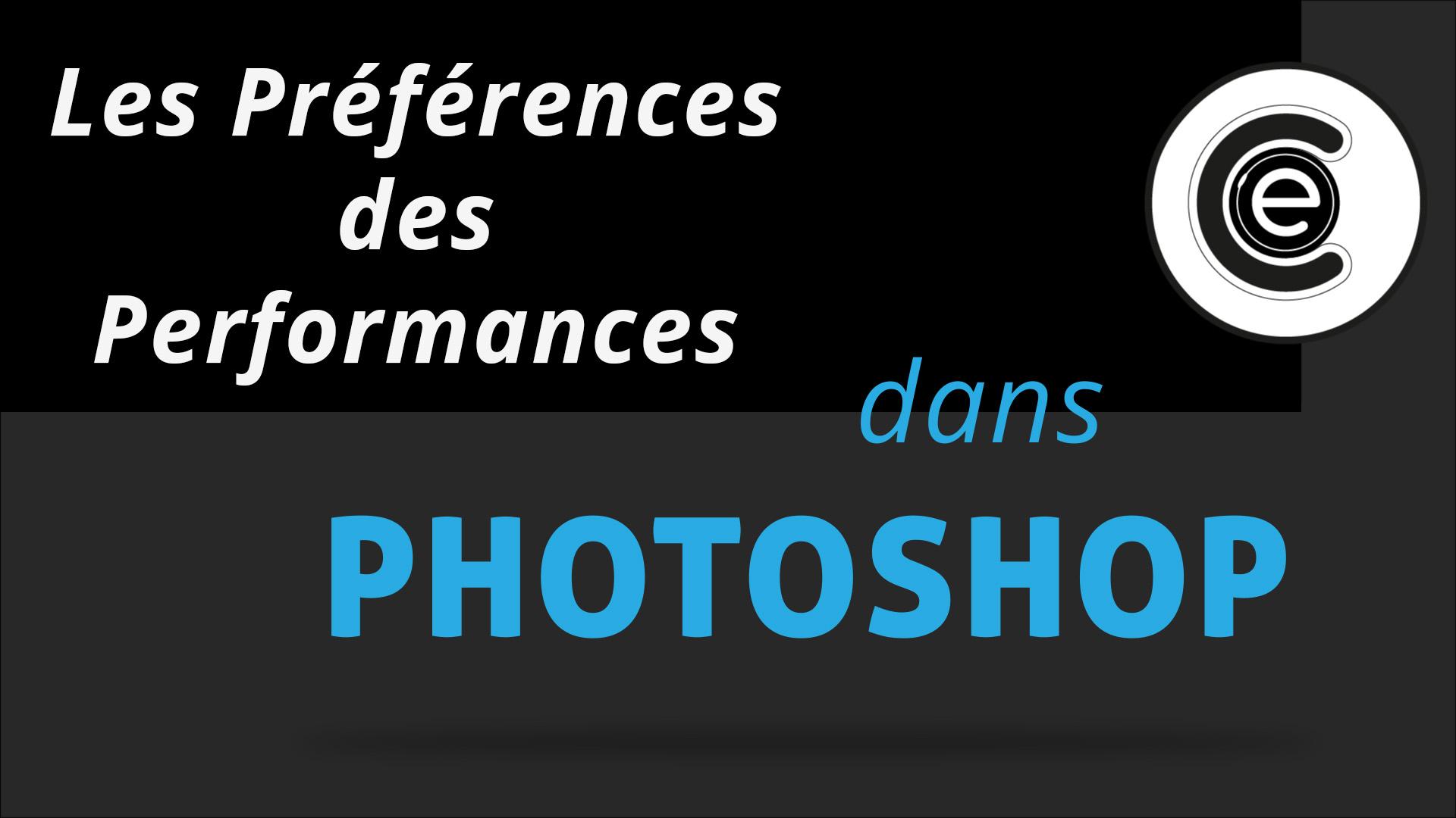 Sauvegardes automatiques et gestion des disques Photoshop