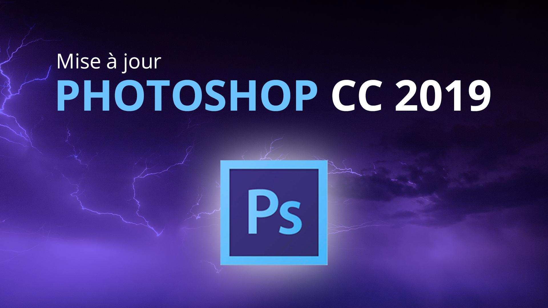 Nouveauté sPhotoshop
