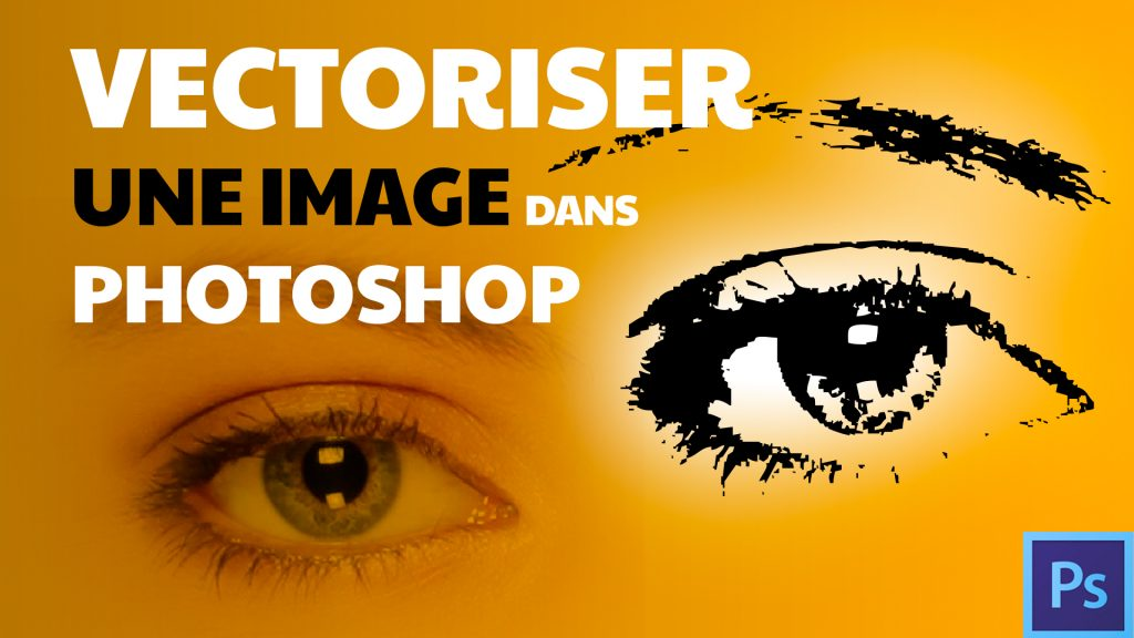 Vectoriser une image Photoshop