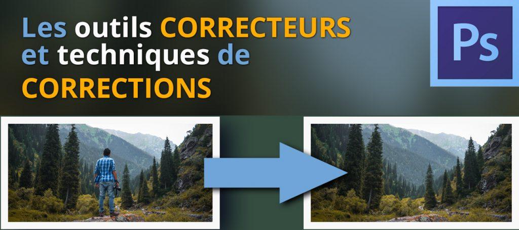 Formation Photoshop, outils et techniques de corrections
