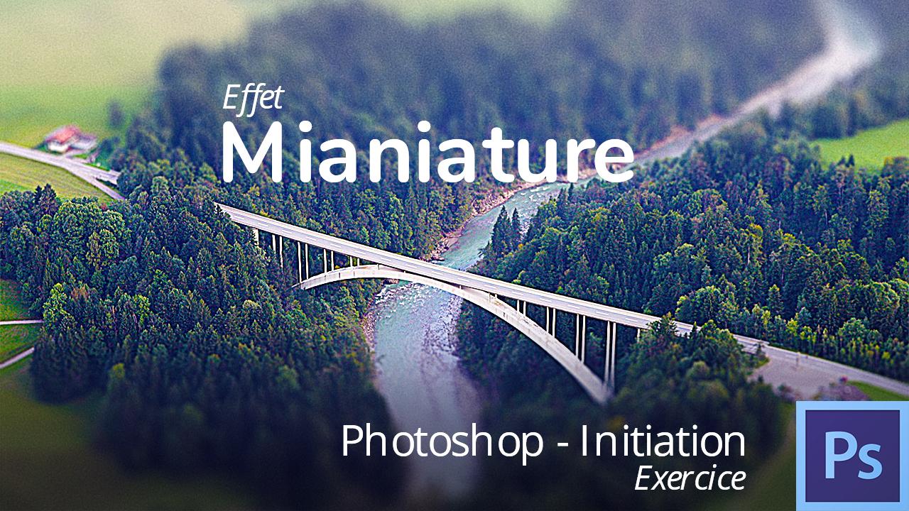 Faire un effet maquette dans photoshop