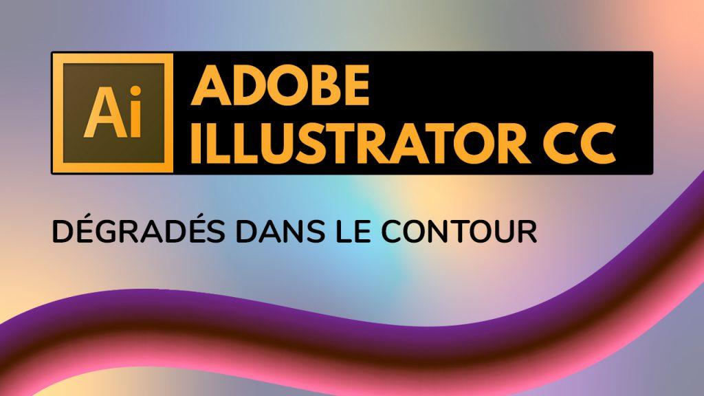 Dans cette vidéo, je vous montre comment ajouter des dégradés dans le contour des objets dans Illustrator.