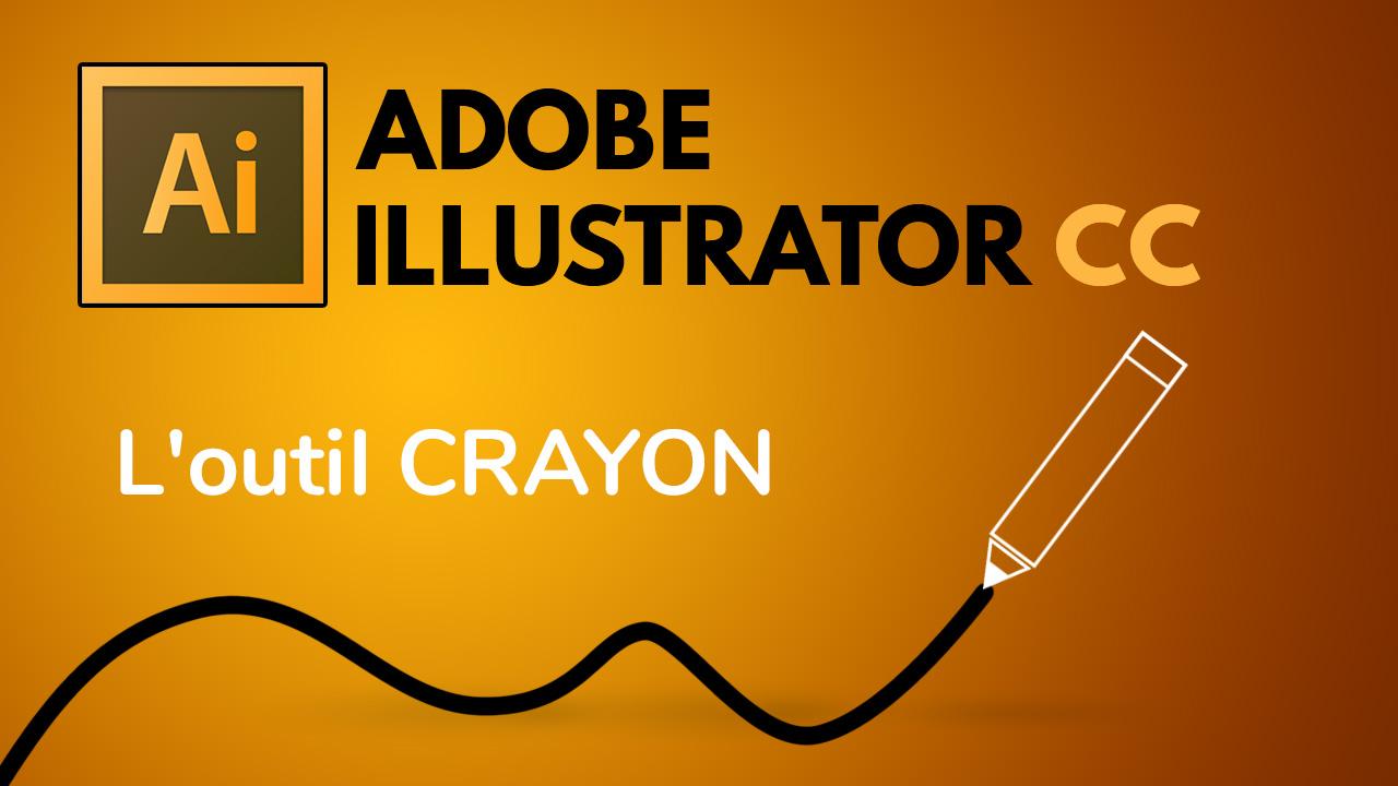 Dans cette vidéo, je vous montre comment utiliser l'outil crayon dans Illustrator.