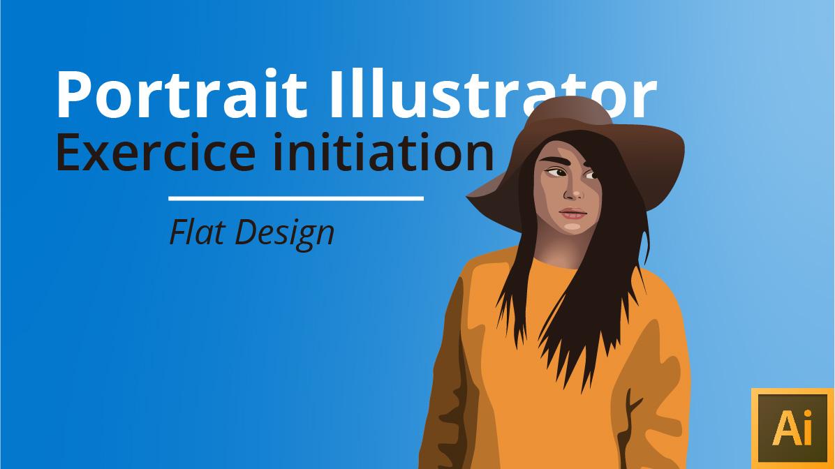 Comment faire un portrait à partir d'une photo avec Illustrator