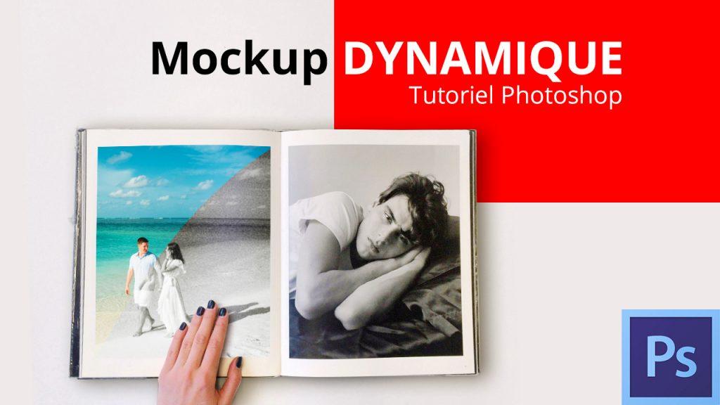 Mockup dynamique Photoshop
