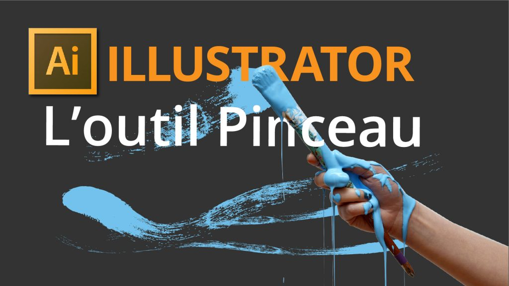 Outil pinceau Illustrator