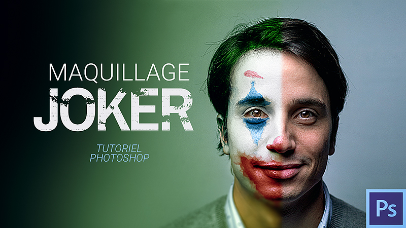Faire le maquillage d'un clown avec Photoshop