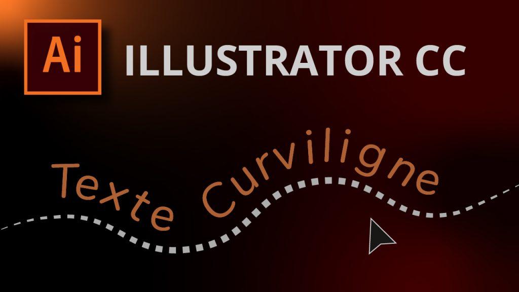 Le texte curviligne dans Illustrator