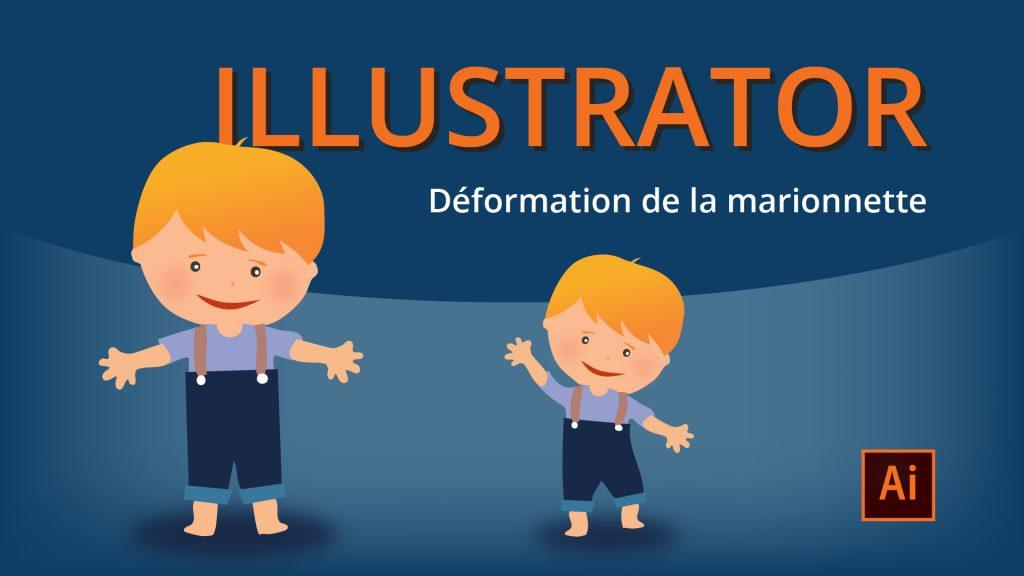Déformation de la marionnette Illustrator