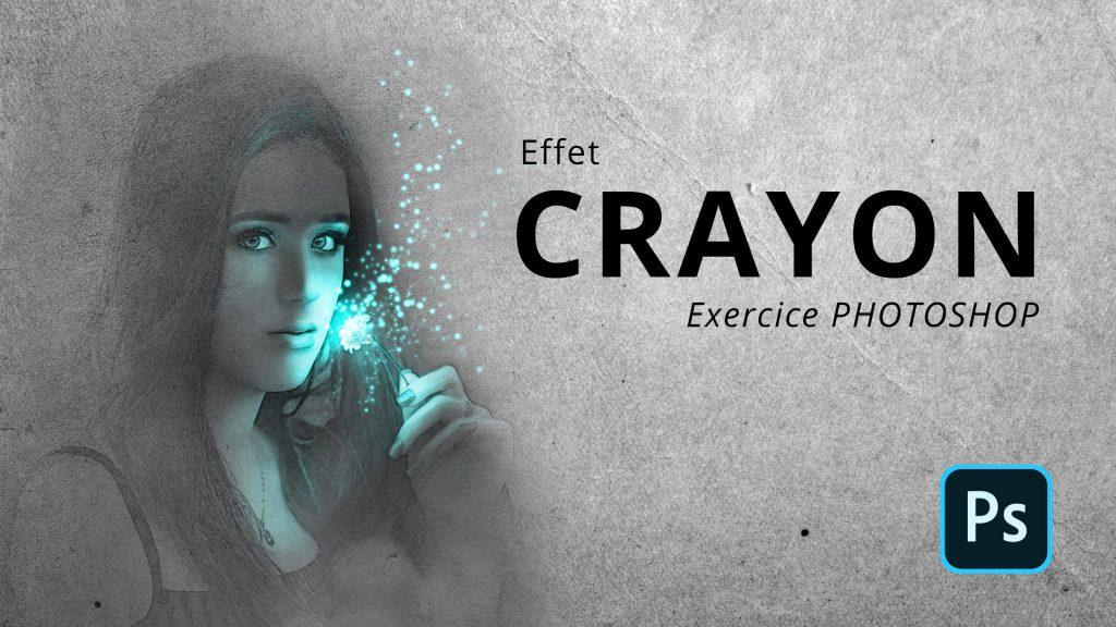 Comment faire un effet crayon dans Photoshop