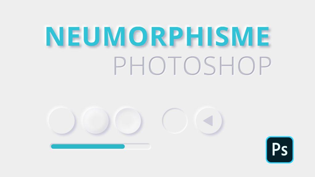 Neumorphisme Photoshop