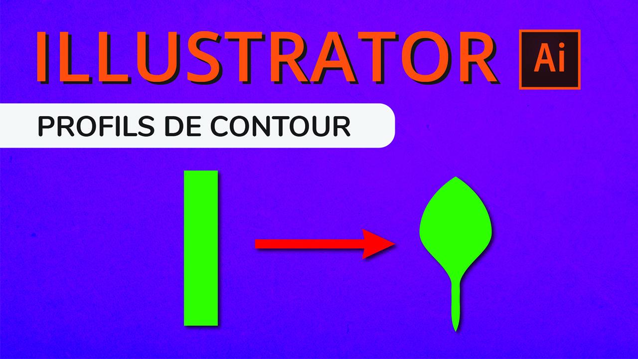Les profils de largeur Illustrator