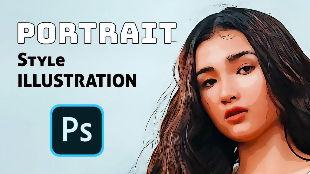 Comment transformer une photographie en illustration avec Photoshop en utilisant uniquement que des filtres.