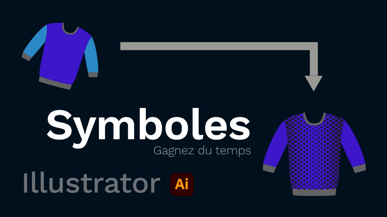 Les symboles dans Illustrator