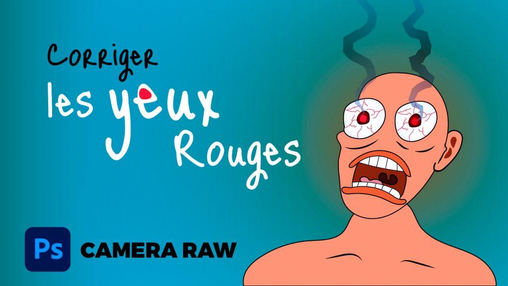 Dans cette vidéo je vous montre comment corriger les yeux rouges dans Camera Raw, je vous montre aussi une alternative.