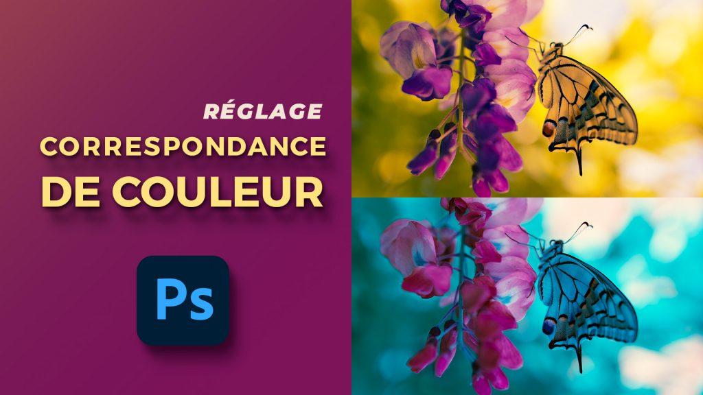 Correspondance de couleurs Photoshop