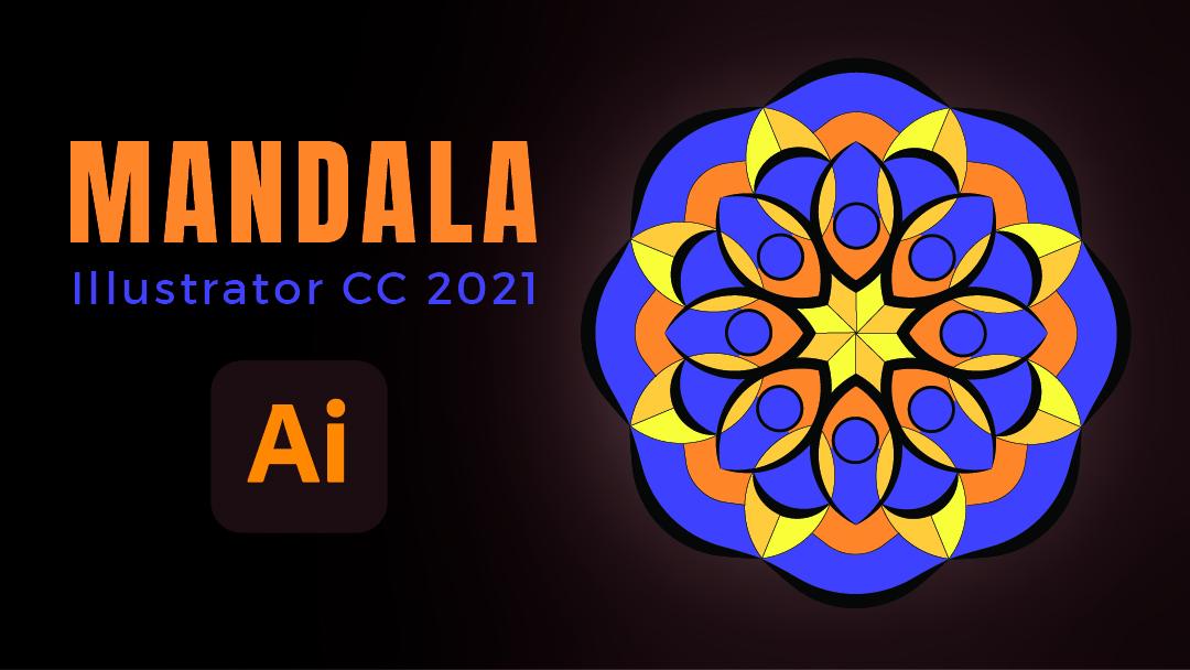 Comment faire un mandala dans Illustrator CC 2021