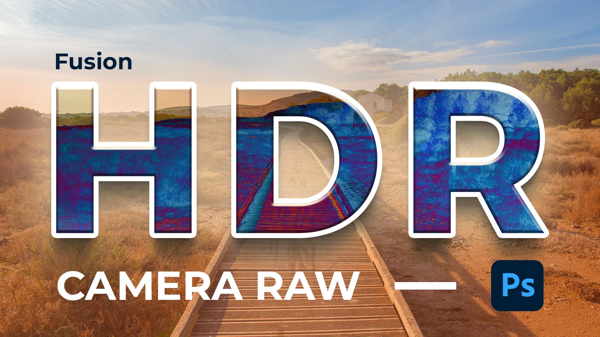 Dans cette vidéo je vous montre comment faire une fusion HDR dans Camera Raw.
