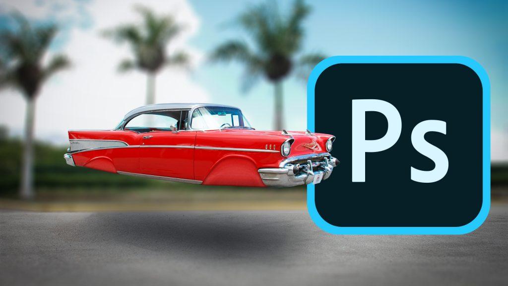 Comment faire voler une voiture avec Photoshop. Exercice complet Photoshop . Emmanuel Correia