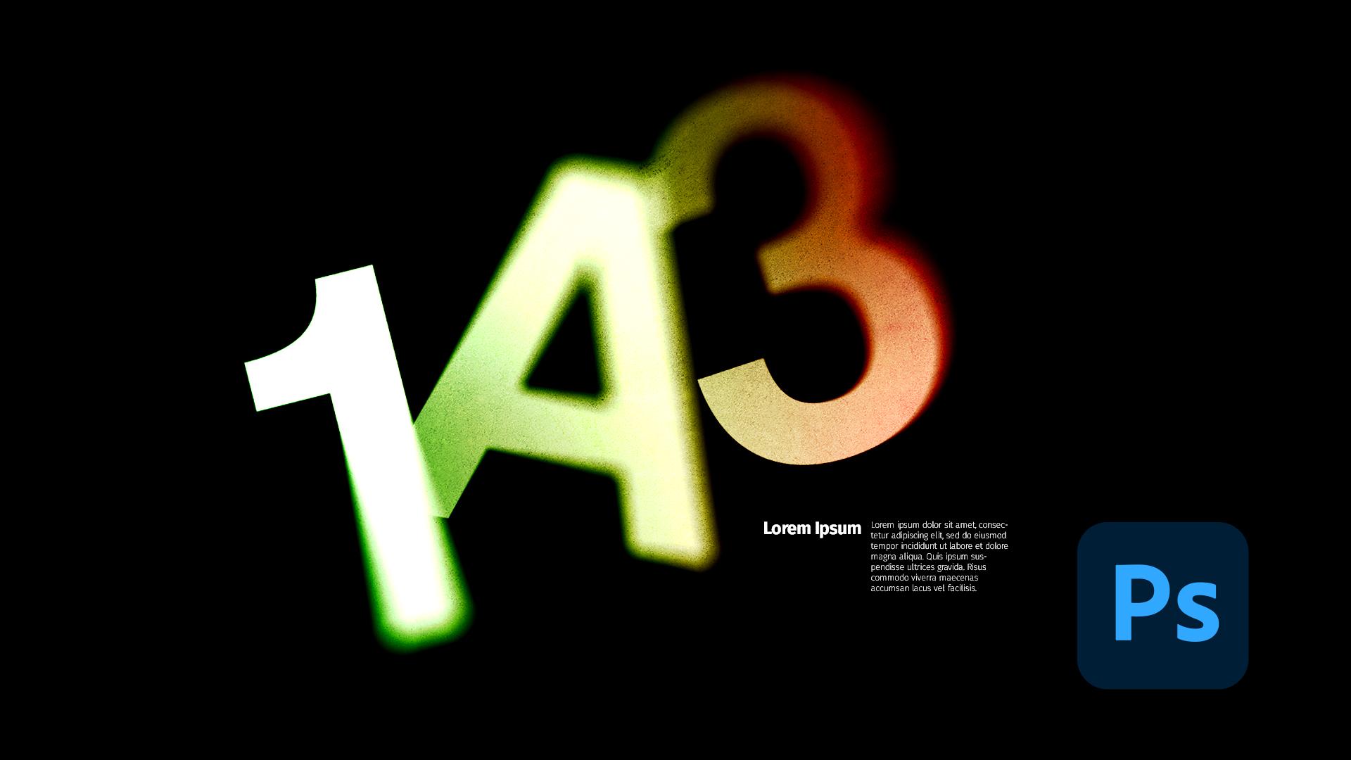 Comment composer avec la typographie dans Photoshop