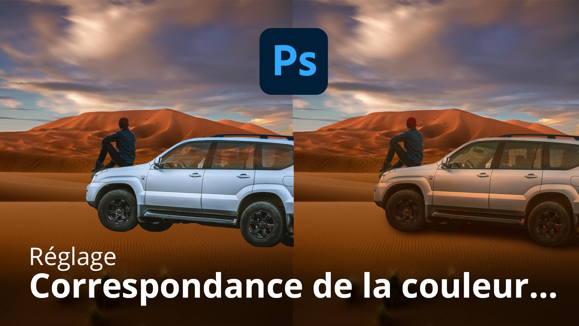 Comment faire correspondre les couleurs dans Photoshop