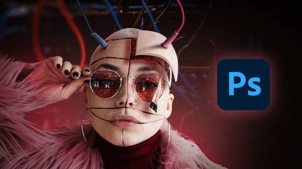 Voici un tuto de photo montage avec Photoshop. Dans cette vidéo je vous montre comment transformer un portrait en cyborg avec Photoshop.