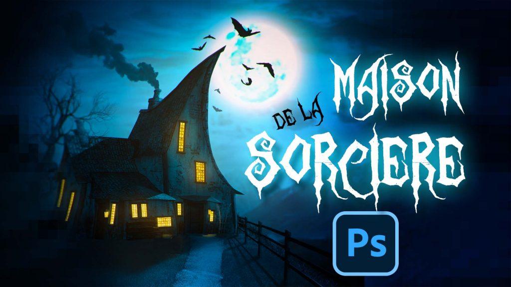 Tuto Photoshop theme halloween